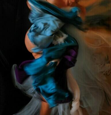 """""""Il soffio"""" self portrait ©Ilaria Facci"""