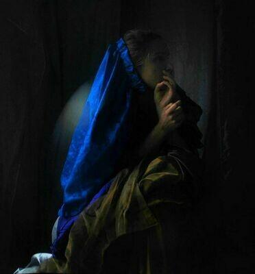 """""""Il Papa Nero"""" #5 Self portrait ©Ilaria Facci"""