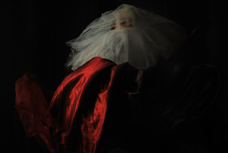 """2020. """"Il Papa Nero"""" #8 Self portrait ©Ilaria Facci"""