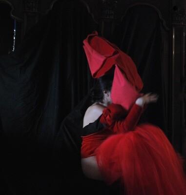 """""""L'Inquisizione"""" #7 Self portrait ©Ilaria Facci"""