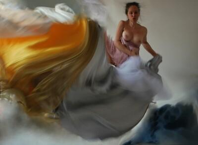 """""""Nei voli degli altri""""Self portrait ©Ilaria Facci"""