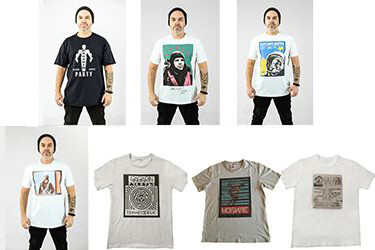 Авторская футболка от бренда Made in Dance, несущая в себе дух легендарных рейвов 90-х годов