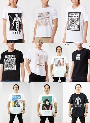 Авторская футболка от бренда Made in Dance, несущая в себе дух легендарных рейвов 90-х годов.