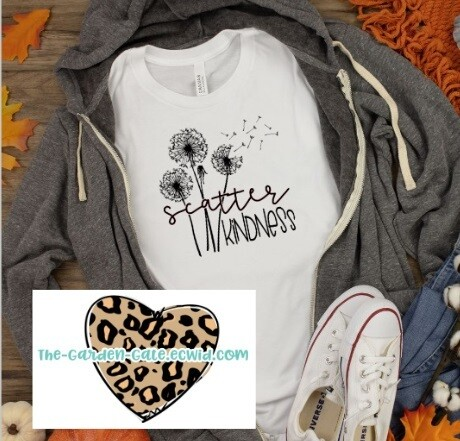 Scatter Kindness Tee - Adult S-XL