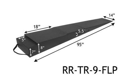 Trailer Ramps - 9 inch w/Flap Cutout