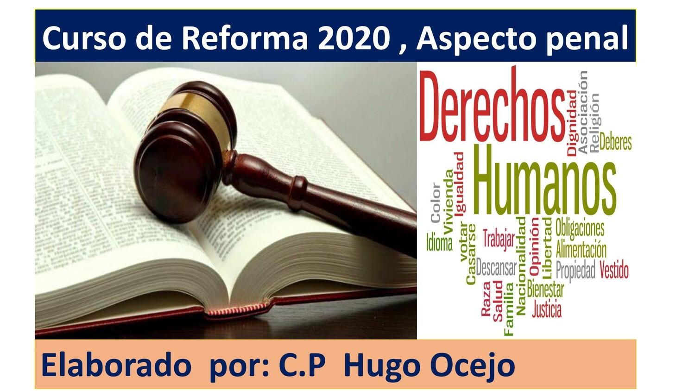 Curso de Reforma 2020, incluye aspecto penal ( Material y Video)
