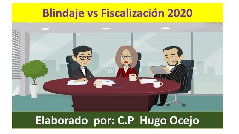 Curso Blindaje vs Fiscalización 2020