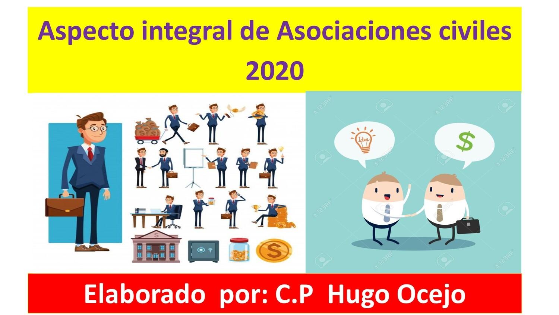 Curso Análisis Integral de Asociaciones Civiles ( Material y Video)