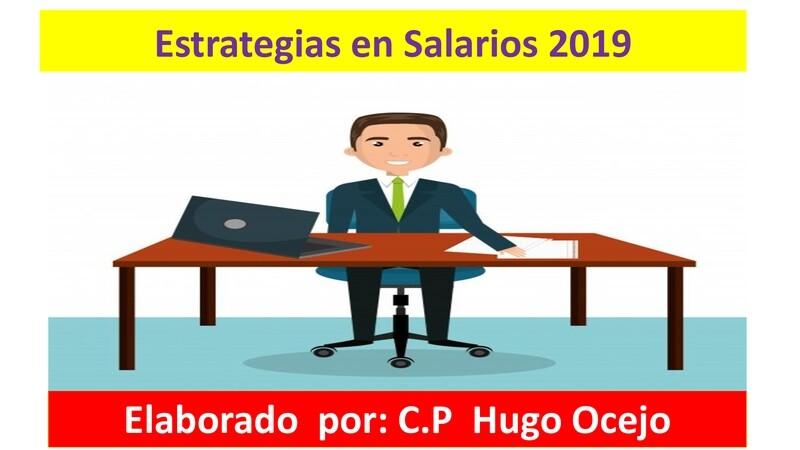 Curso de Estrategias en Salarios 2020