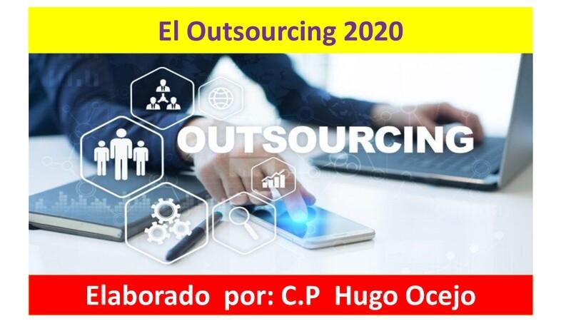 Curso Prevención en Outsourcing 2020