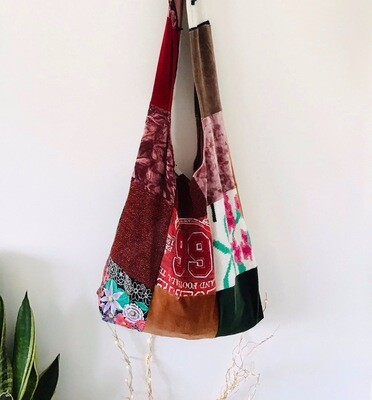 Patchwork Boho Slouchy Shopper Bag