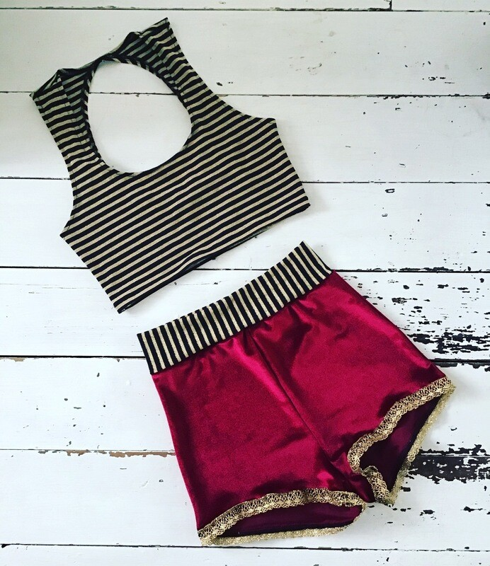 High wire Circus Costume
