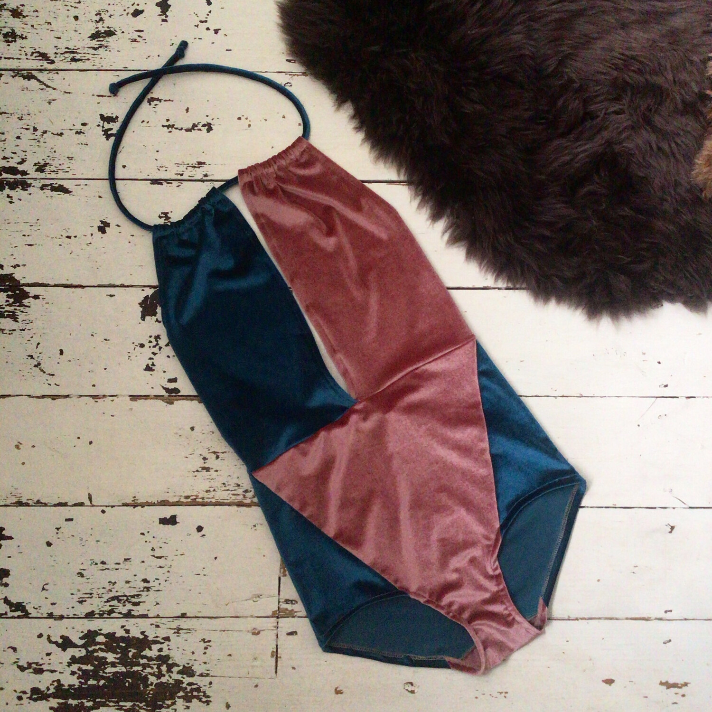 Velvet Deep V Bodysuit