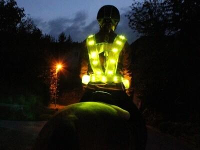 Leucht- Sicherheitsweste