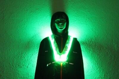 Leucht-Sicherheitsweste Flex