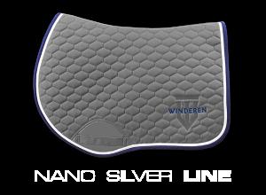 Schabracke Nano Silber Line Springen