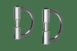 D-Ring Backenstück