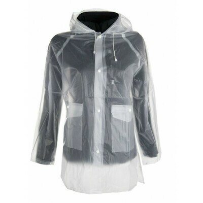 Regenjacke, transparent