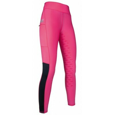 Reitleggings Advanced - Silikon Vollbesatz - HKM