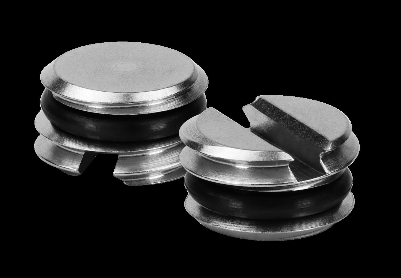 Edelstahl Blindstollen - Typ 103