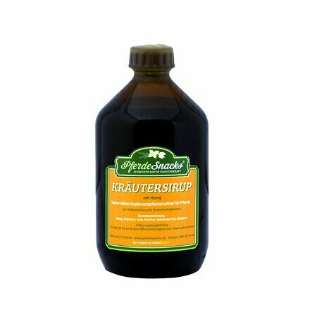 Kräutersirup mit Honig
