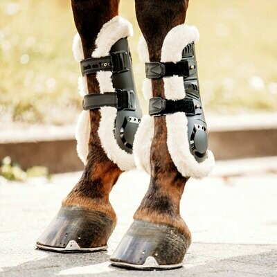 Air Flow Tendon Boots mit Fell