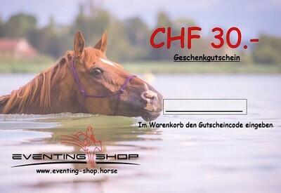 Geschenkgutschein CHF 30.-