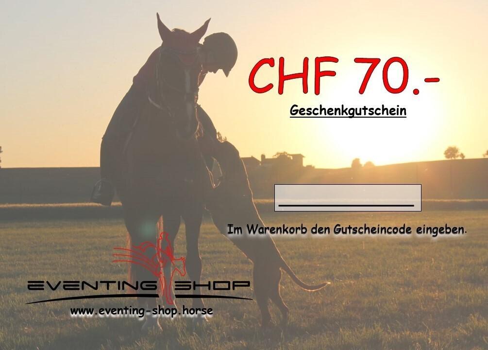 Geschenkgutschein CHF 70.-