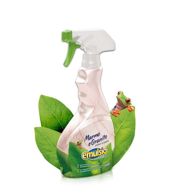 Marble Detergent Emulsio Naturale exclusive formula sutiable for Marble and granite 375ml