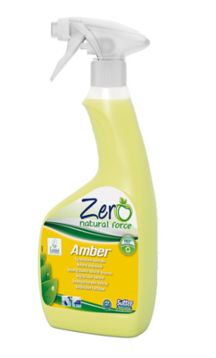 ZERO-AMBER- natural super active degreaser. Ideal in the kitchen, for the daily cleaning of greasy dirt 500ml