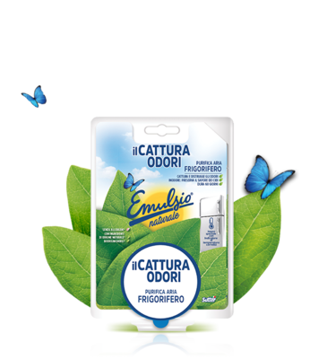 Emulsion naturale catturaodori fridge deodorant