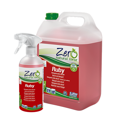 RUBY- natural detergent for bathrooms and toilets. 500ml