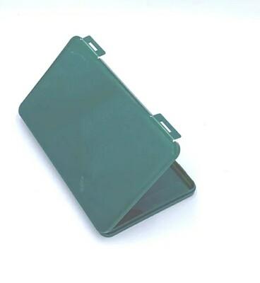 Hygienebox für Mund-Nasenschutz Masken dunkelgrün