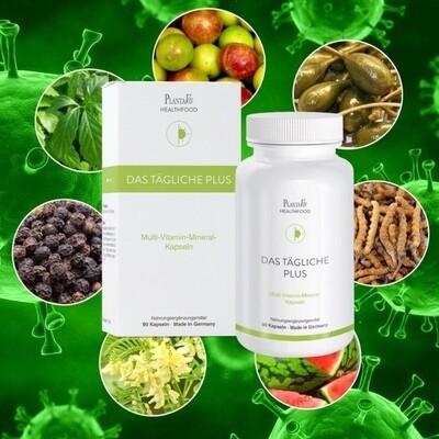 Das tägliche Plus (Multi-Vitamin-Minneral-Kapseln) 90Stück
