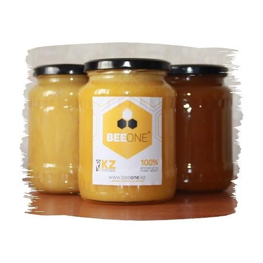 Мёд, стеклянная баночка, 800 мл.