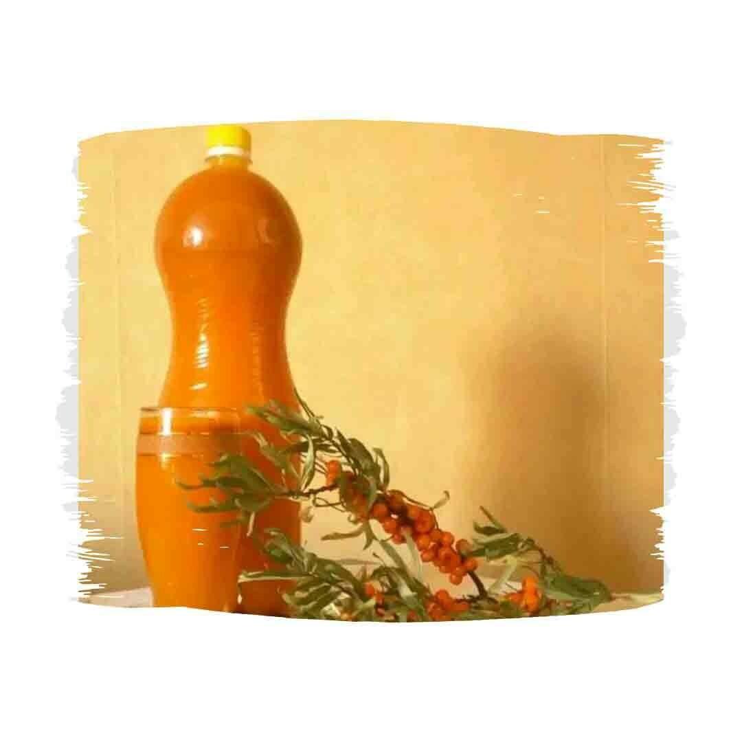 Облепиховый сок/сок облепихи/облепиха(концентрат), 1,5 л.