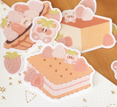 Strawberry Treats Sticker Pack