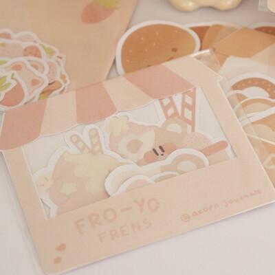 Fro-yo Frens Sticker Pack