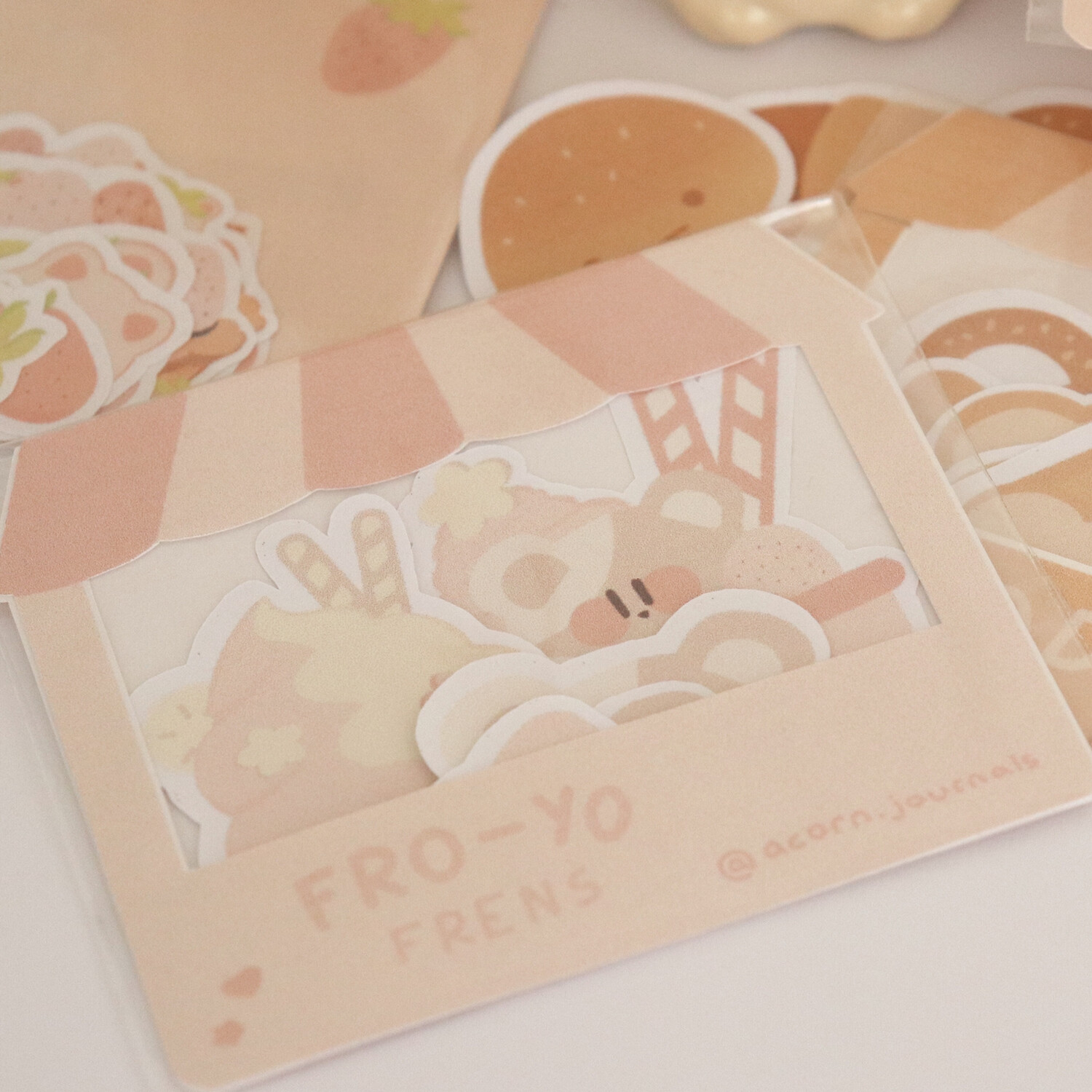 Fro-yo Frens Sticker Pack