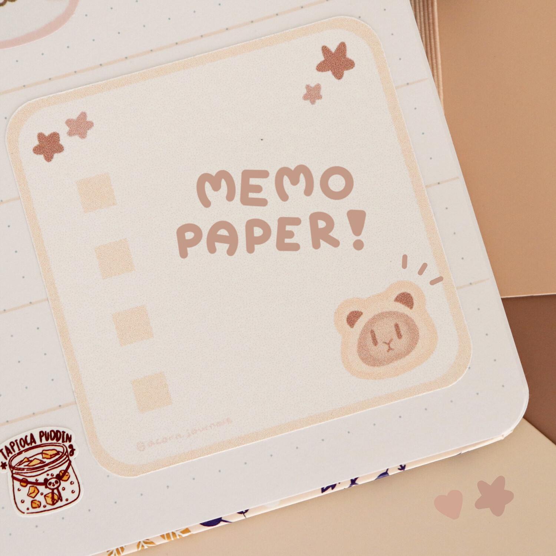 Mochi Memo Paper