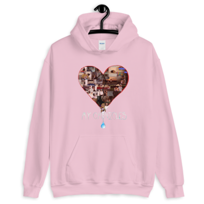 """Who Hurt You?"" Hoodie - Pink"