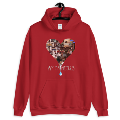"""Who Hurt You?"" Hoodie - Cardinal Red"