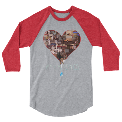 Raglan Shirt - Cardinal Red