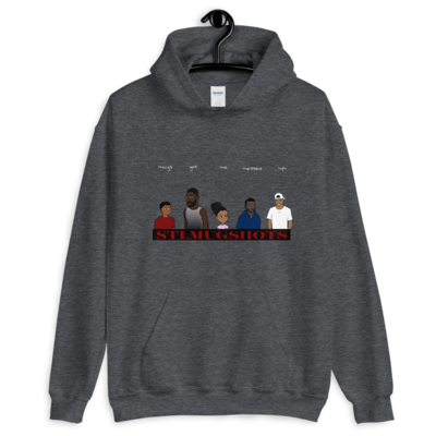 STL Mugshots Hoodie - Dark Heather