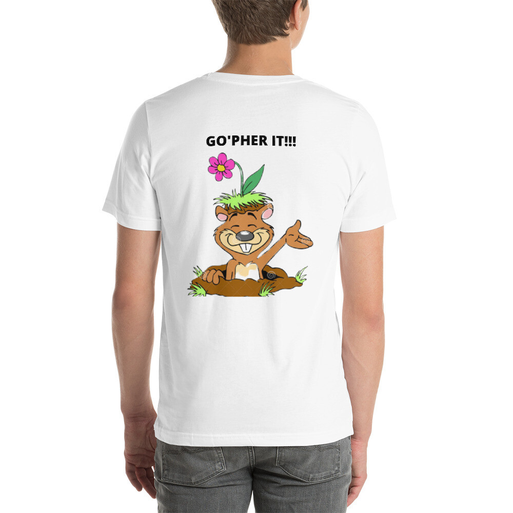 Gopher it (Men's) - Short-Sleeve Unisex T-Shirt
