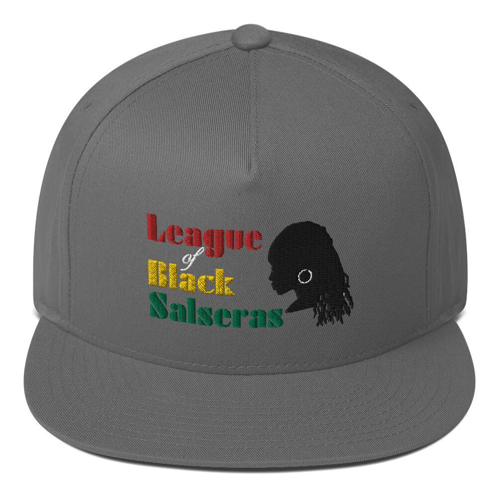 League of Black Salseras (Women) - Flat Bill Cap