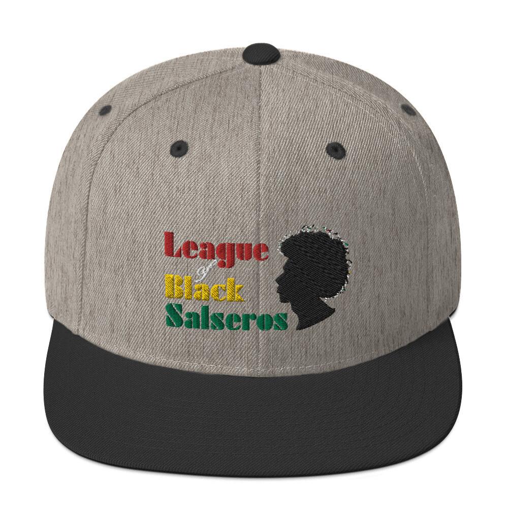 League of Black Salseros - Snapback Hat
