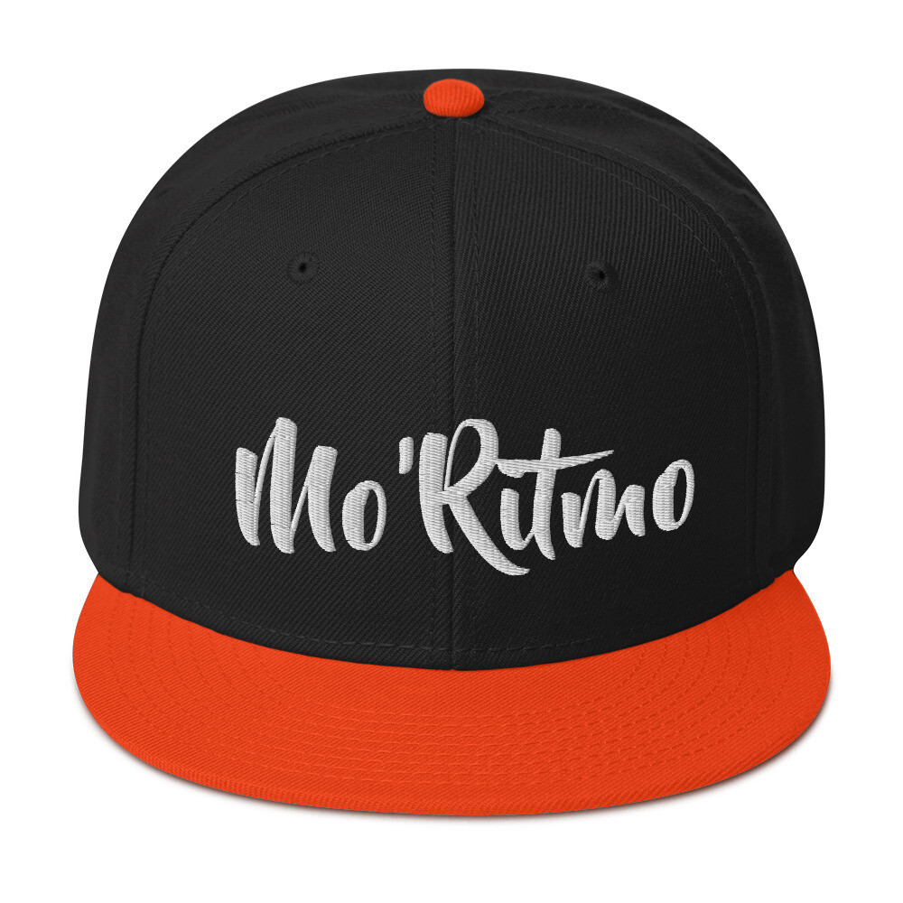 Mo'Ritmo (White Text) - Snapback Hat