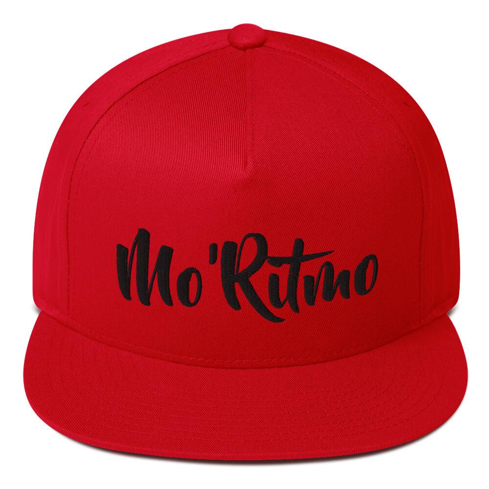 Mo'Ritmo (Black Text) - Flat Bill Cap
