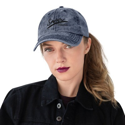 Smoov Operator (Black Text) - Vintage Cotton Twill Cap
